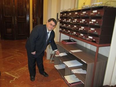 Alvaro en la Diputación