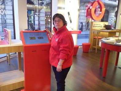 Beatriz en Vodafone
