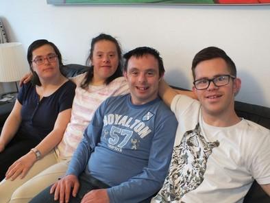 Bea,Sara,Iván y Borja