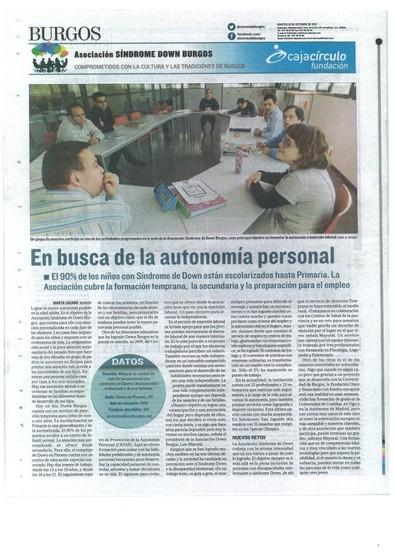 Contraportada el Mundo el Correo de Burgos