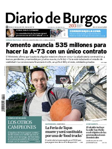 Iván en el Diario de Burgos