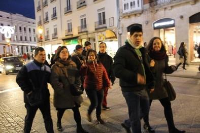 De paseo en Navidad,Burgos 2017