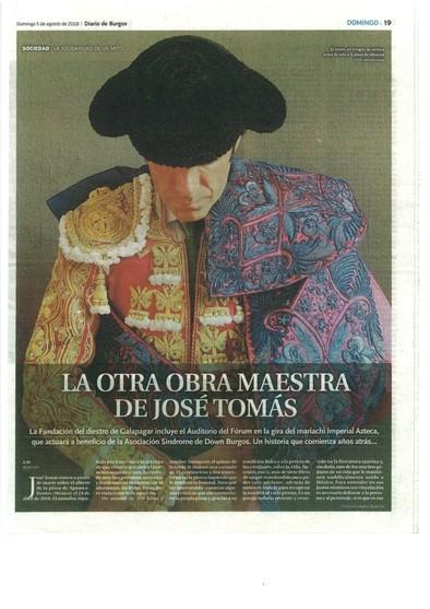 JOSÉ TOMÁS .REPORTAJE EN DB