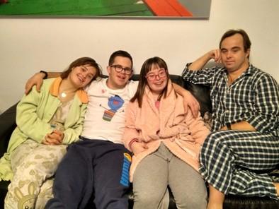 Olga,Borja,Patri y Juan.