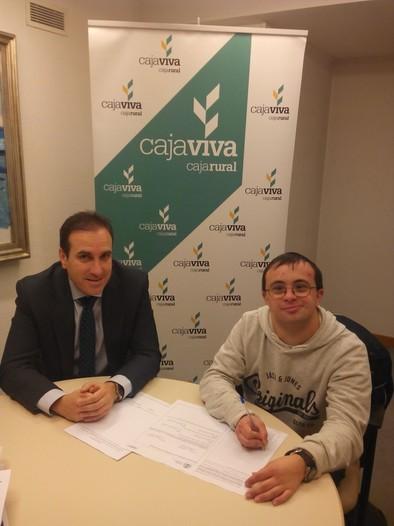 Alvar Peña en la Caja Viva Caja Rural de Burgos