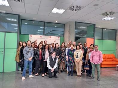 Congresistas visitan el Centro Estela de Down Burgos.