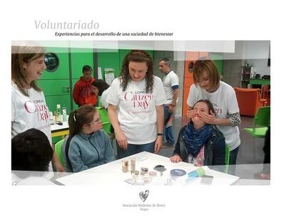 voluntarios .Loreal.Down Burgos