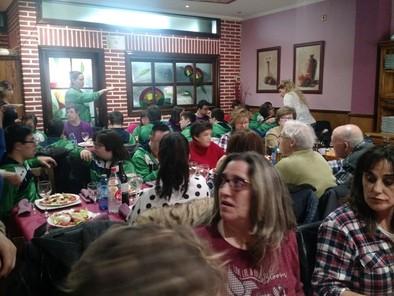Familias,deportistas de Down Burgos OLMEDO
