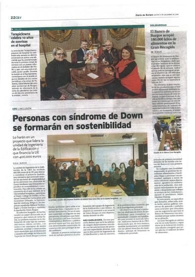 Suskids en diario de Burgos