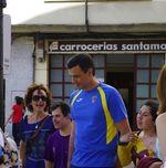 Pedro Sánchez en Down Burgos