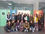 Visita de alumnos del Instituto Enrique Flórez