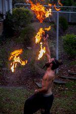 Taller de danza y malabares de fuego