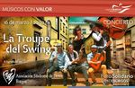 La troupe del Swing toca para Down Burgos en el Foro Solidario