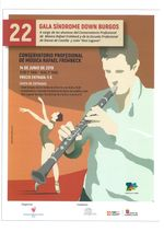 22ª GALA DOWN BURGOS DE MUSICA Y DANZA