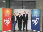 Rector y Vicerrector de la Universidad de Burgos