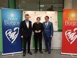 El presidente del PP CYL,Alfonso Fdez Mañueco  y el alcalde de Burgos