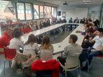 Alumnos de 3º de Pedagogía visitan el Centro Estela de Down Burgos