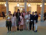 La Infanta Doña Elena con alumnos del colegio
