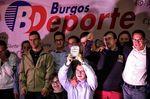 El CD Estela y su entrenadora premios Burgos deporte